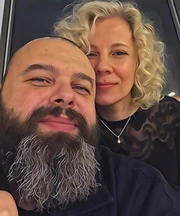 Максим Фадеев с женой Натальей