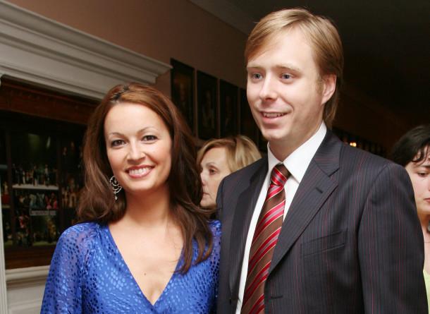 Александр Масляков-младший и его супруга