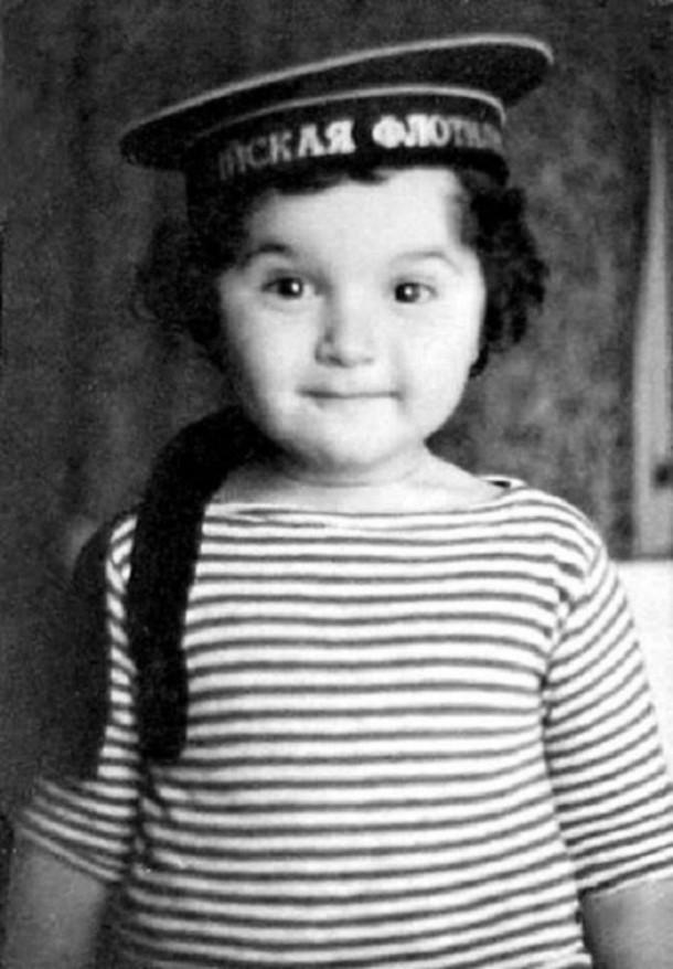 Юлий Гусман в детстве
