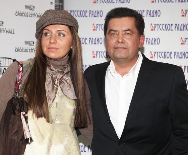 Расторгуев со второй женой Натальей