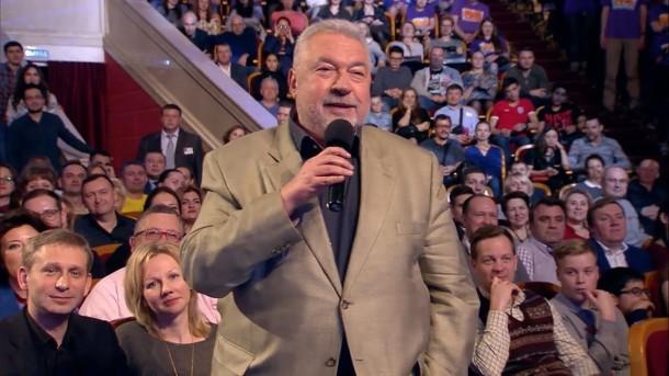 Юлий Гусман в составе жюри КВН