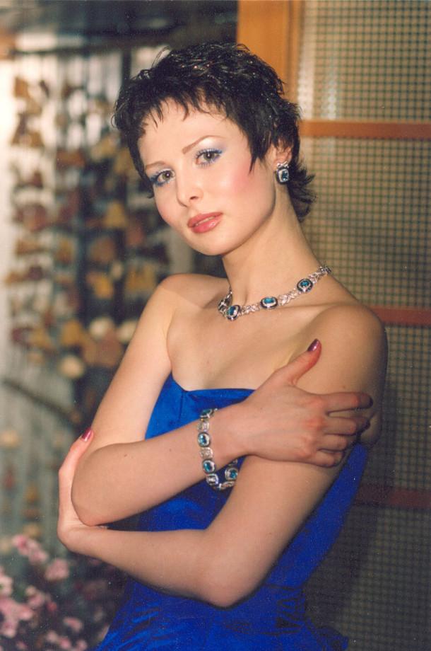 Ольга Погодина в молодости