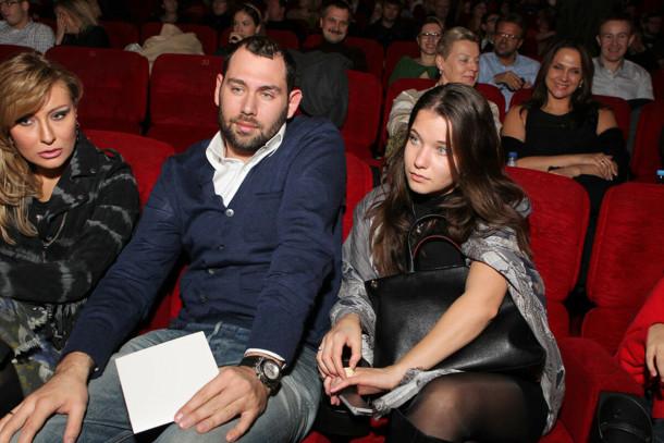 Слепаков с супругой Кариной