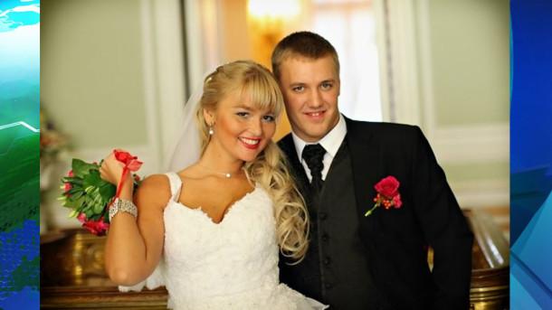 Старшая дочь Сергея Собянина Анна с мужем