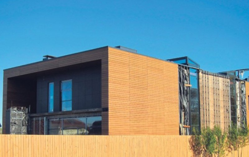 Двухэтажный дом Александра Цекало в скандинавском стиле