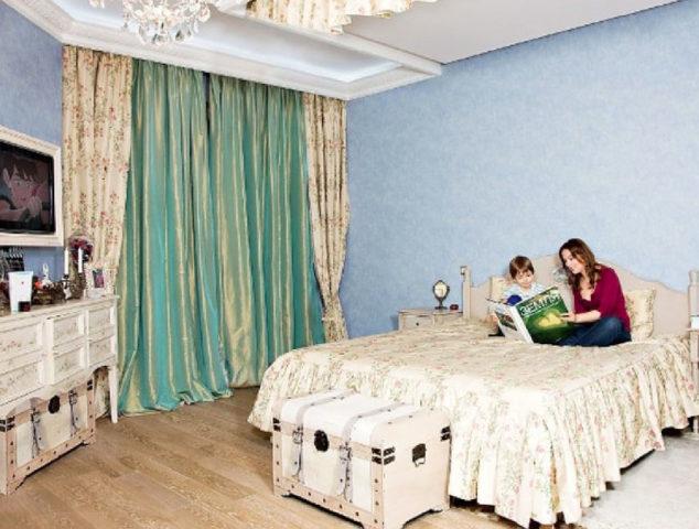 Квартира-ракушка Ольги Будиной: где проживает известная актриса