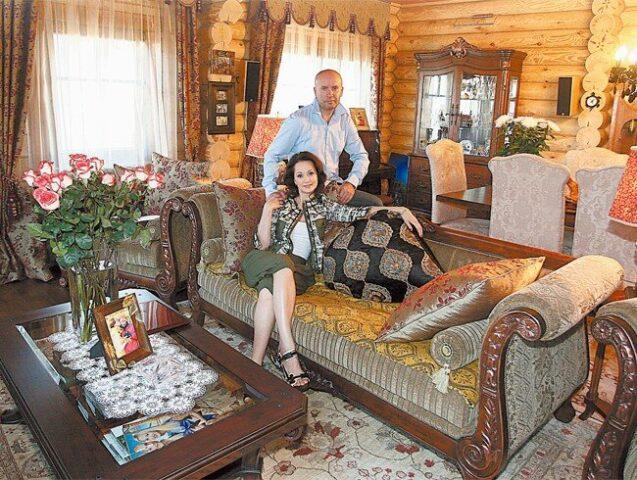 Сказочный теремок актрисы Ольги Кабо