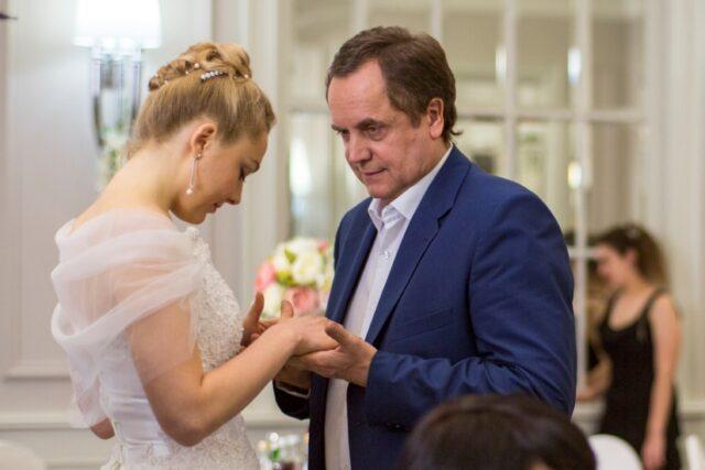 Жена актера Андрея Соколова