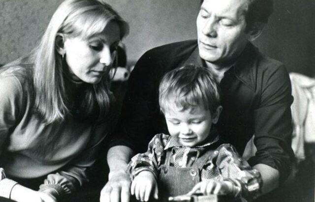 Жена актера Михаила Жигалова