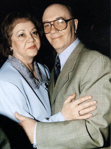 Жена Леонида Куравлева