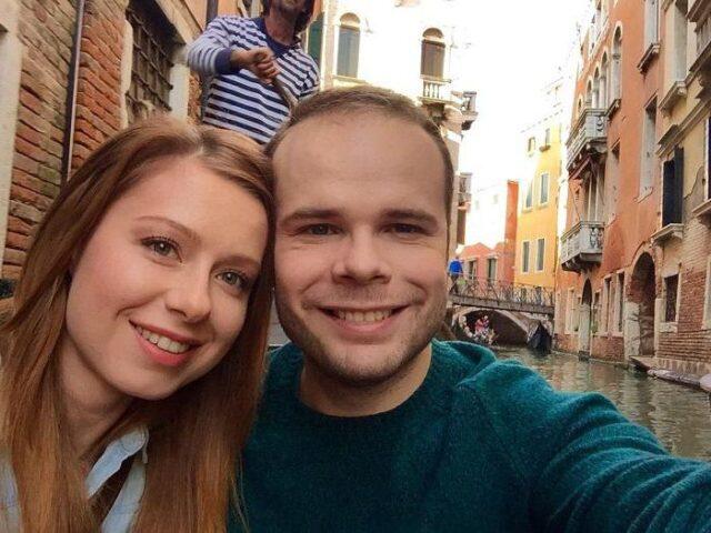 Жена журналиста Дмитрия Борисова