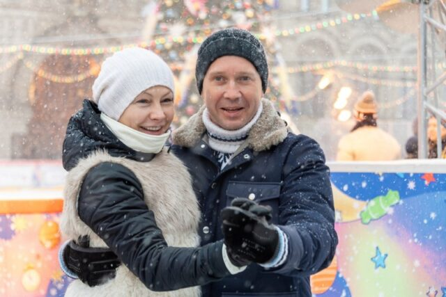 Жена актера Евгения Миронова