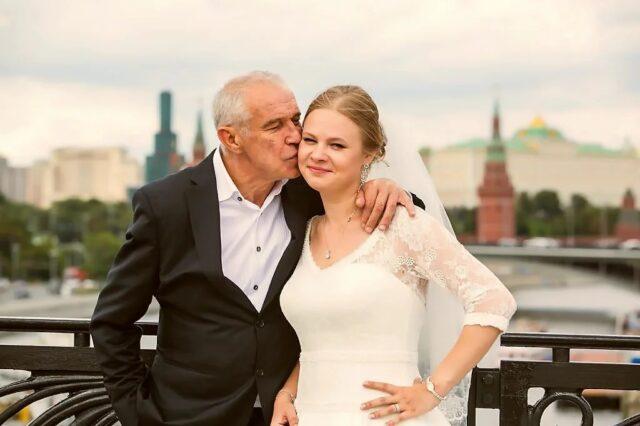 Жена актера Сергея Гармаша