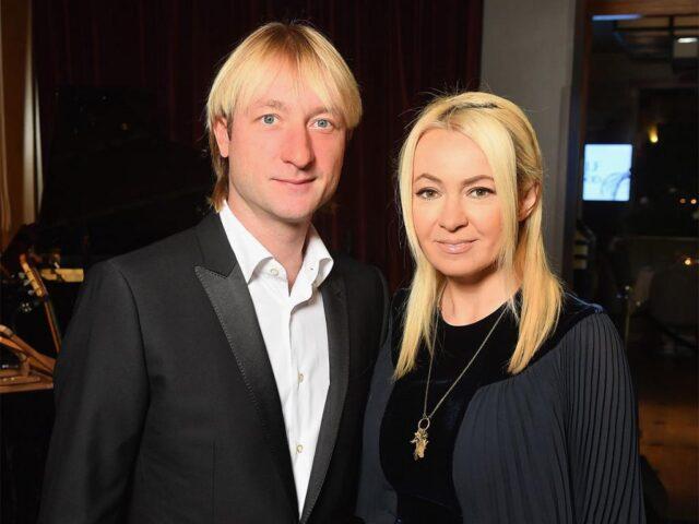Жена фигуриста Евгения Плющенко