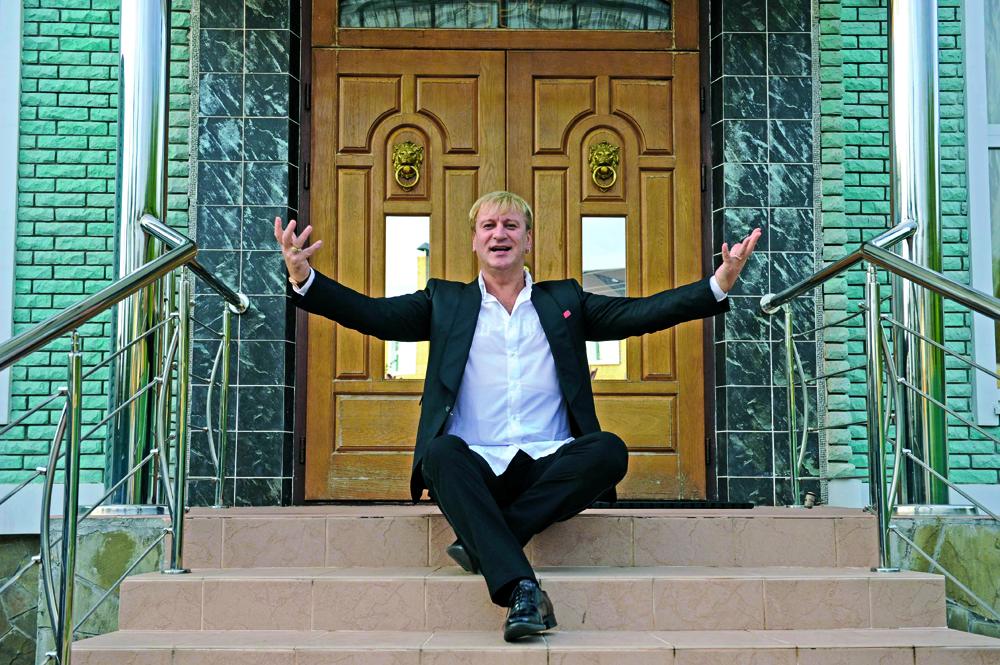 Дом известного композитора и певца Сергея Пенкина