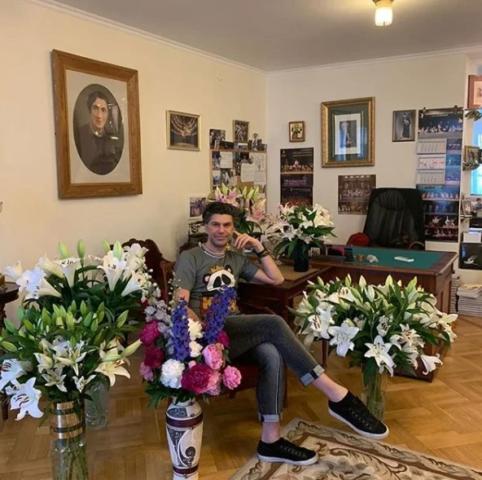 Московская квартира Николая Цискаридзе
