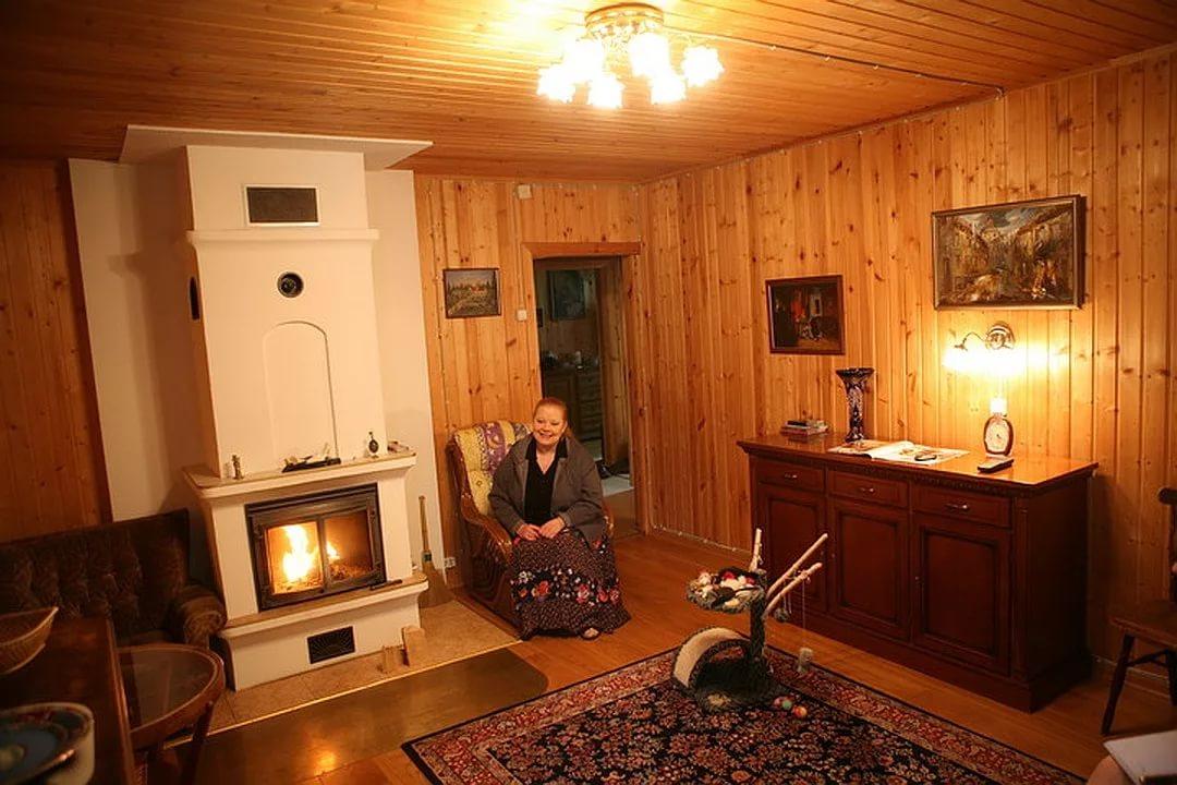 Загородный дом Людмилы Сенчиной: что было и стало