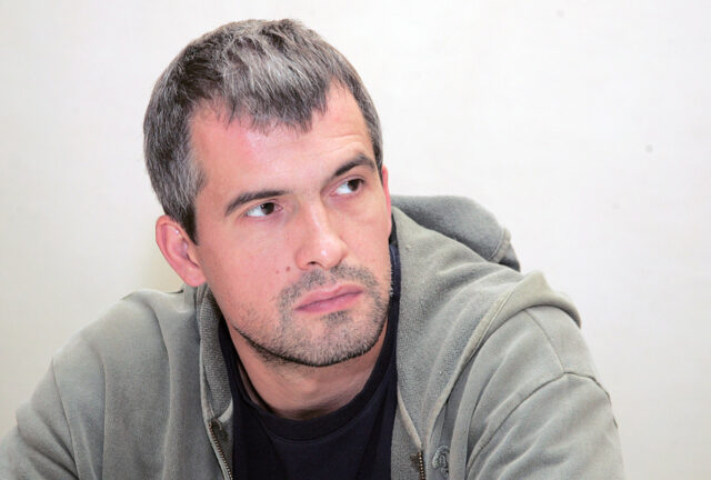 Жена актера Вячеслава Разбегаева