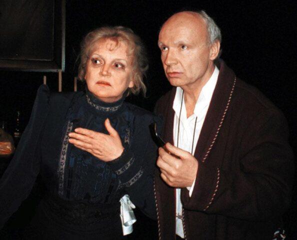 Жена актера Андрея Мягкова