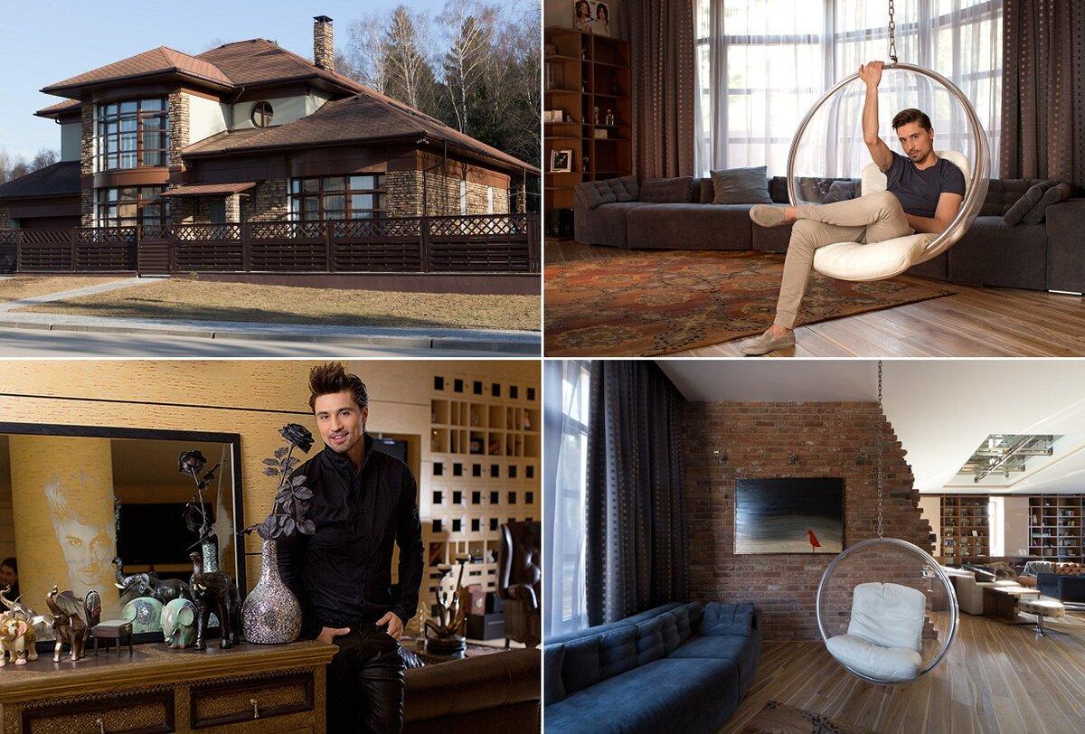 Новый особняк Дмитрия Билана за 300 миллионов рублей