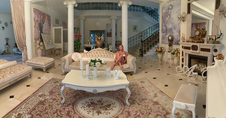 Как выглядит дом Анастасии Волочковой за 2 млн. долларов
