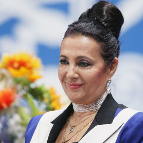 Жена предпринимателя Алишера Усманова
