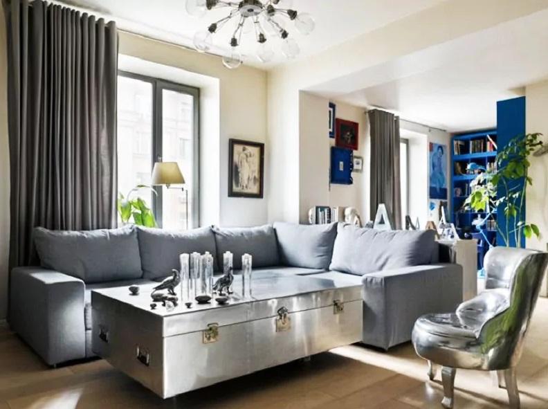 Необычное преображение квартиры актера Андрея Руденского