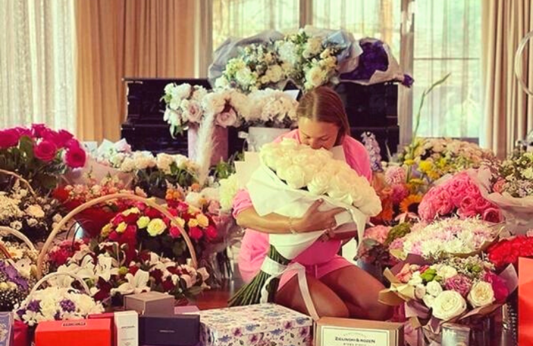 Роскошный день рождения жены Дмитрия Диброва