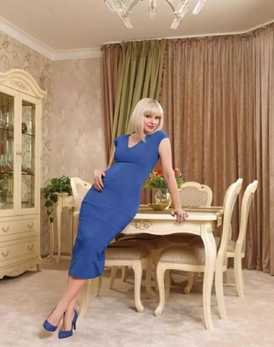Шестикомнатная квартира певицы Натали