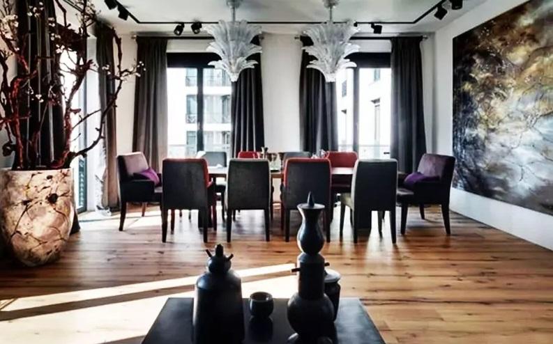 Лаконичный интерьер апартаментов актрисы Оксаны Лаврентьевой